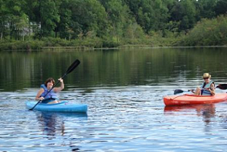 Kayaking on Barger Pond